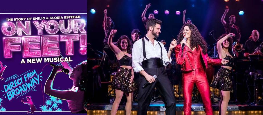 On Your Feet! at Manchester Palace Theatre