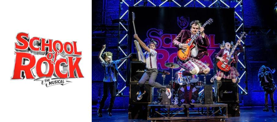 The School of Rock at Manchester Palace Theatre