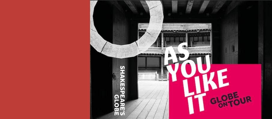 As You Like it, Shakespeares Globe Theatre, Manchester