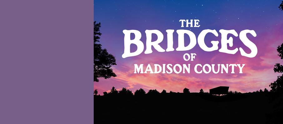 The Bridges of Madison County, Menier Chocolate Factory, Manchester