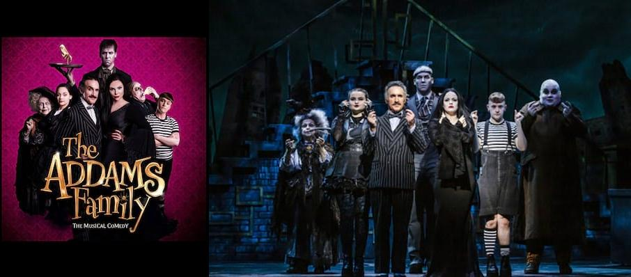 The Addams Family, New Wimbledon Theatre, Manchester