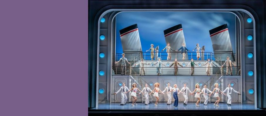 Anything Goes, Barbican Theatre, Manchester